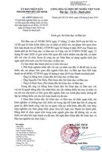 Giám đốc Sở Giáo dục Thành phố Hồ Chí Minh bị phê bình nghiêm khắc