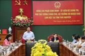 Tỉnh Thái Nguyên đề nghị điều chỉnh đầu tư và gia hạn giải ngân vốn nước ngoài cho 3 dự án sử dụng vốn ODA