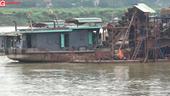 Phú Thọ - Bài 1  Cát tặc lộng hành trên sông Đà, đe dọa hàng trăm hộ gia đình
