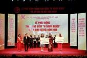 Tập đoàn BRG và Công ty Liên doanh Thành phố Thông minh Bắc Hà Nội đóng góp 1 tỷ đồng hưởng ứng cuộc vận động vì người nghèo