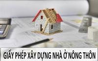 Xây nhà ở nông thôn có cần xin giấy phép xây dựng