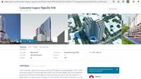 Môi giới bán lụi dự án căn hộ cao cấp Lancaster Legacy trên khu đất công