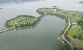 """Công ty Nhật Hằng """"biến"""" mặt nước hồ Đại Lải thành hồ của riêng mình, sao không đập bỏ"""