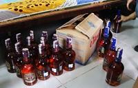 Triệt phá lô rượu XO, Chivas giả chuẩn bị mang đi tiêu thụ