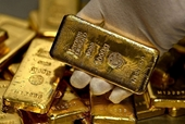 Vàng thế giới giảm nhẹ, vàng trong nước tăng trong phiên đầu tuần