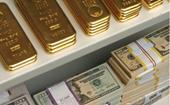 Giá vàng thế giới lại giảm sốc , rơi xuống thấp nhất 9 tháng