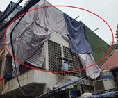Tại phường Cửa Đông Hoàn Kiếm, Hà Nội  Vi phạm trật tự xây dựng trên công trình biệt thự hạng I