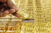 Giá vàng tăng vọt lên đỉnh 3 tuần
