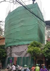 Phường Hàng Buồm Ngang nhiên tồn tại công trình vi phạm trật tự xây dựng