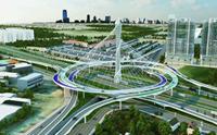 Siêu dự án đường trên cao dài nhất Việt Nam đi qua những địa phận nào của Hà Nội