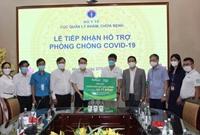 Nutifood và Ông Bầu trao tặng các sản phẩm dinh dưỡng cho y bác sĩ tuyến đầu và bệnh nhân mắc Covid-19