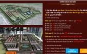 Dự án Rùa Vàng City, Bắc Giang Chủ đầu tư huy động vốn trái luật