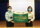 Nutifood và Ông Bầu trao tặng sản phẩm dinh dưỡng trị giá 1,3 tỉ đồng cho CBNV ngành y tế TP HCM