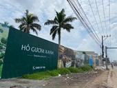 """Bình Dương Chủ đầu tư dự án Hồ Gươm Xanh bị """"tuýt còi"""" vì xây dựng không phép"""