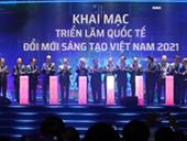Công nghệ đột phá của Sunshine Group Tâm điểm thu hút tại Triển lãm quốc tế Đổi mới sáng tạo Việt Nam 2021