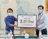 BAC A BANK trao tặng 2 000 bộ xét nghiệm nhanh COVID-19 góp sức chống dịch