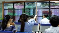 VN-Index tăng gần 23 điểm nhờ cổ phiếu ngân hàng, bất động sản