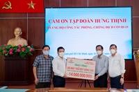 Tập đoàn Hưng Thịnh hỗ trợ khẩn hàng chục tỉ đồng cho TP HCM chống dịch COVID-19