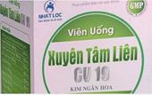 Bộ Y tế cảnh báo hai sản phẩm xuyên tâm liên giả mạo điều trị COVID-19