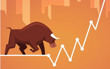 """Cổ phiếu """"Bank, chứng, thép"""" tiếp đà bứt phá, VN-Index tăng hơn 6 điểm, vượt mốc 1 320"""