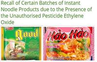 Mì tôm chua cay Hảo Hảo bị thu hồi tại Ireland vì chứa chất độc hại