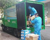 Trợ giá sữa 50 , Nutifood tiếp sức người dân Hà Nội chống dịch
