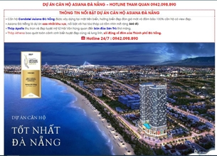 Đà Nẵng cảnh báo giao dịch tại dự án Asiana và dự án Khu đô thị Xanh Bàu Tràm Lakeside
