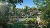 Phân khu Tropical Park của ngôi làng nhiệt đới gây bão thị trường Phú Quốc